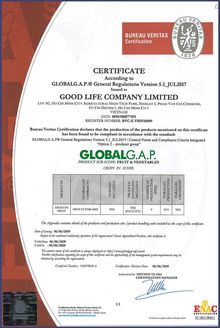 goodlifejp.com, GLOBAL GAP 2019